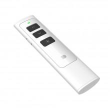 Презентер беспроводной с лазерной указкой Doosl со встроенной батареей белый (DSIT013-WT)
