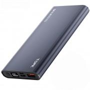 УМБ Power Bank Topk 18W QC3.0/PD 10000 mAh 1xUSB, 1xType-C серый 2 входа - USB Type-C, MicroUSB (TKI1006P-GR)