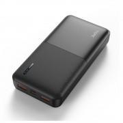 УМБ Power Bank Topk 18W QC3.0/PD 20000 mAh 2xUSB, 1xType-C черный 2 входа - USB Type-C, MicroUSB (TKI2009Q-BL)