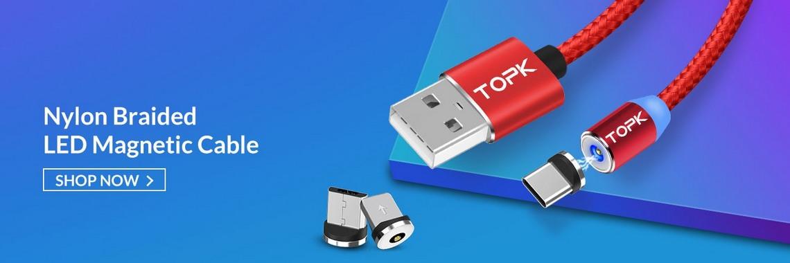 Магнитные кабеля Topk
